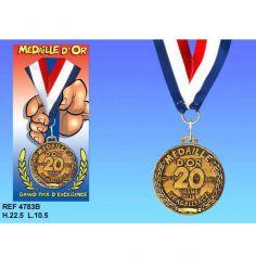 Médaille d'Or Anniversaire 20 Ans