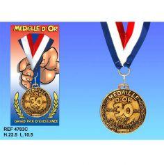 Médaille d'Or Anniversaire 30 Ans
