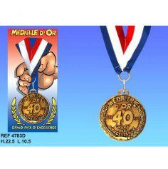 Médaille d'Or Anniversaire 40 Ans
