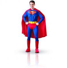 Déguisement Homme Superman Licence - Taille au Choix