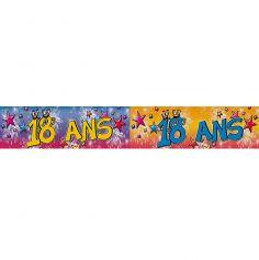 """Bannière """"18 ans"""""""