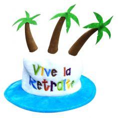 cadeau retraite original chapeau