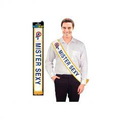 Echarpe Mister Sexy Bleue