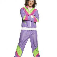 deguisement jogging violet des années 80 pour homme   jourdefete.com