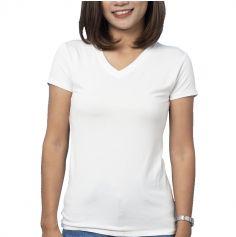 t-shirt blanc personnalisable pour femme | jourdefete.com