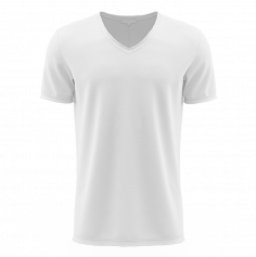 t-shirt personnalisable blanc pour homme | jourdefete.com