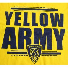 T-Shirt Femme - Yellow Army - Taille au Choix