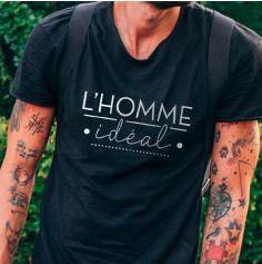 """T-Shirt pour homme """" L'homme idéal """" - Taille au Choix"""