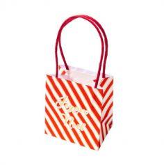 sacs-cadeaux-joyeux-noel-rayures | jourdefete.com