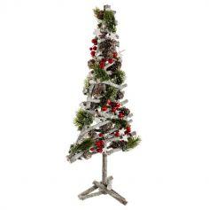 arbre-noel-bois-decoration | jourdefete.com