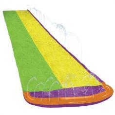 Tapis-de-glisse-SLIP-N-SLIDE -boogie-eau-double-course-ventriglisse-tuyau-arrosage-zone-eclaboussement|JOURDEFETE.COM