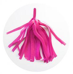 Guirlande 5 tassels - Fuchsia