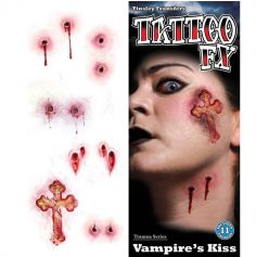 "Tatouages FX ""Baisers de vampire"""