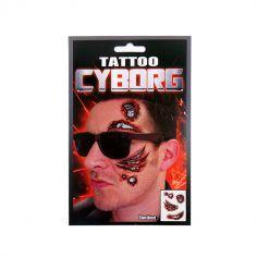 Tatouage temporaire adulte - Cyborg