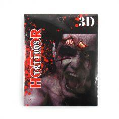 """Tatouage """"Oeil de zombie"""" et ses 7 assortiments"""