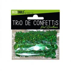 Trio de Confettis - Vert