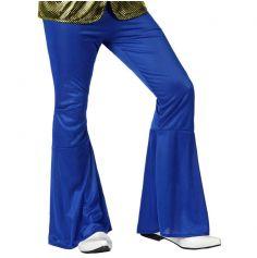 Pantalon Pattes d'Eph Disco Bleu Roy