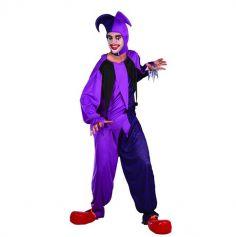 Tenue Joker Violet et Noir Homme