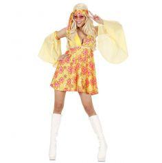 Déguisement Hippie Robe Femme