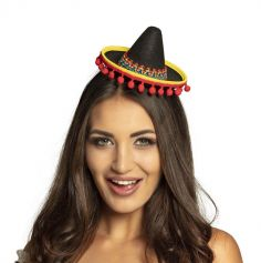 Serre-Tête Mini Sombrero