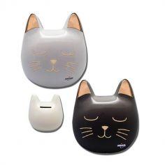 tirelire chat miaou | jourdefete.com