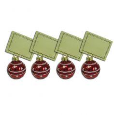 Portes Cartes Boules de Noël
