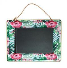 ardoise-murale-fleurs-tropical | jourdefete.com