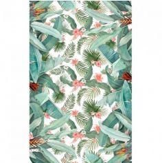 nappe-tropical-fleur-palmier|jourdefete.com
