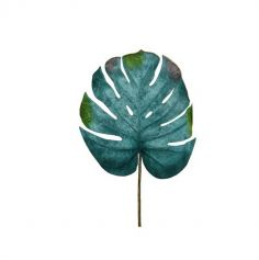 feuille-monstera-tige-or | jourdefete.com