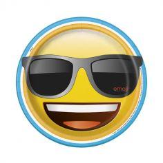 Grandes assiettes plates Emoji