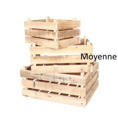 Cagette Champêtre en bois - Moyenne