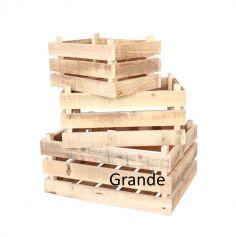 Cagette Champêtre en bois - Grande
