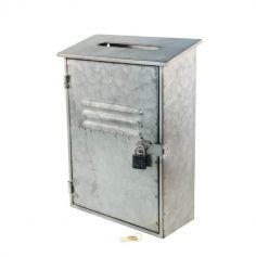 Urne boite aux lettres - Metal | jourdefete.com
