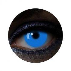 Lentilles UV Bleu - 1 an (sans correction)