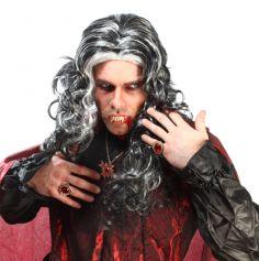 Perruque Frisée de Dracula