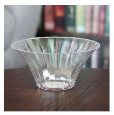 Vase en Plastique Transparent Evase 18 cm - Candy Bar | jourdefete.com