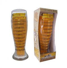 Verre à Bière Géant - 10 Commandements de la Retraite