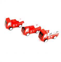 Joujou - Camion de Pompier rétrofriction - 7 cm - Modèle Aléatoire
