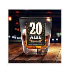 Verre à Whisky - 20 Aine