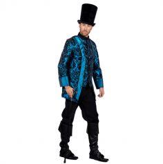 Veste de Noble Baroque  Bleu pour Homme | jourdefete.com