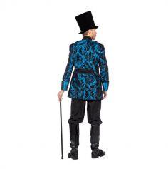 Veste de Noble Baroque - Bleu - Homme - Taille au choix