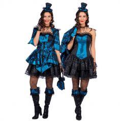 Veste et Robe Baroque Bleu pour Femme | jourdefete.com