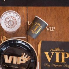 10 Gobelets en carton - Collection VIP