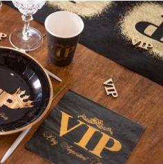 10 Serviettes en papier - Collection VIP