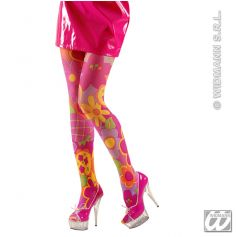 Collants Nylon Flower Power