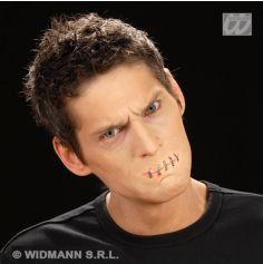 Maquillage Effets Spéciaux Halloween - Bouche Cousue