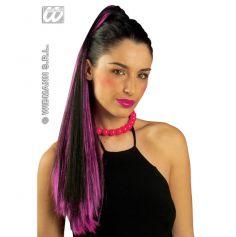 Extension pour Cheveux Bruns méches colorées
