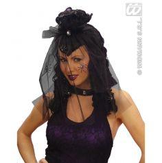 Perruque veuve noire