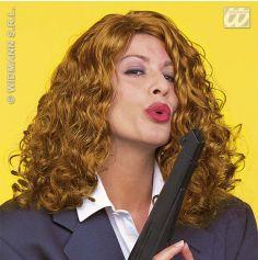 Perruque Natasha cheveux ondulés Blonde