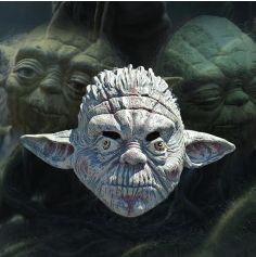 Masque Yoda Star Wars Latex